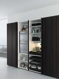 Contemporary Storage Cabinet Kitchen - Best Home ...