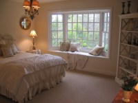 Master Bedroom Bay Window and Sisal -Look Carpet ...