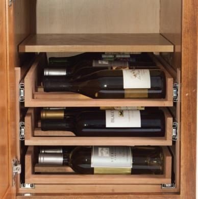 WineLogic Under Cabinet Wine Rack