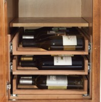 WineLogic Under Cabinet Wine Rack