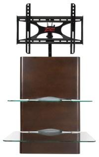 Z-Link ZL92022WMX Wall Mount, 2 Glass Shelves - Modern ...