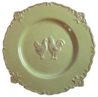 Country French Decorative Plate - Traditional - Decorative ...