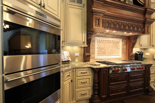 Custom Antique White Kitchen Cabinets Luxury Custom Kitchen Design