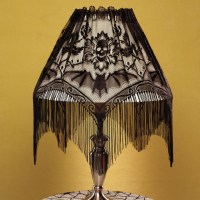 Halloween Lampshade Topper - Contemporary - Holiday ...