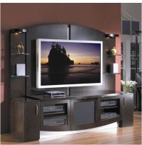 Jazzy Entertainment Center - Modern - Display And Wall ...
