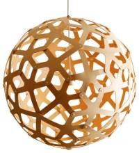 Bamboo Pendant Lamp, Natural, 400 - Modern - Pendant Lighting