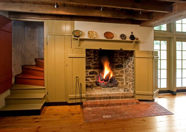 Wassergass Walk In Fireplace