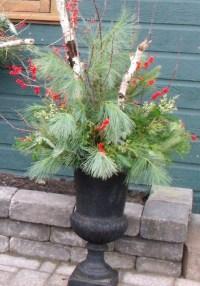 Outdoor Urn Decor Christmas | Decoration News
