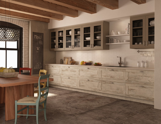 Industiele Keuken Rough Chic Collection - Farmhouse - Kitchen - Montreal