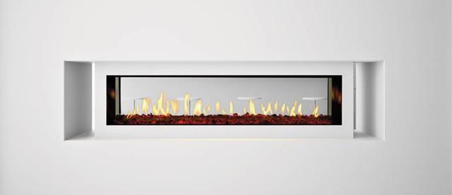 Heat N Glo Gas Fireplaces Primo See Thru Modern