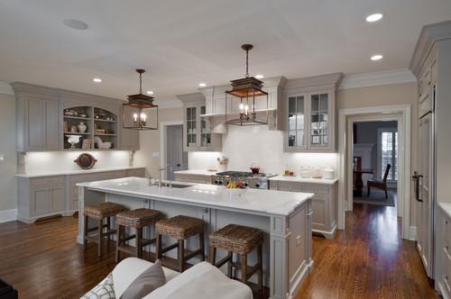 25 Glamorous Gray Kitchens Tidbitstwine