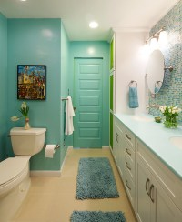 Colorful and Modern Bathroom - Contemporary - Bathroom ...