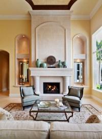 Modern Mediterranean - Mediterranean - Living Room - other ...