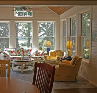 happy french country retreat - Traditional - Family Room ...