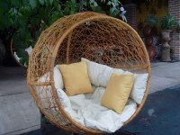 Half Round Swing - Mediterranean - Hammocks And Swing ...