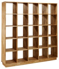 Mash Lax Solid Wood Large Modern Bookshelf - Modern ...