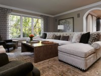 Napa Chic-Transitional Family Room - Transitional - Family ...