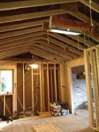 Vault that kitchen ceiling