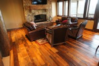 Reclaimed Wood Flooring - Traditional - Living Room ...