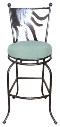 "Cozumel Swivel Bar stool, Spa, 24"" Counter Height ..."