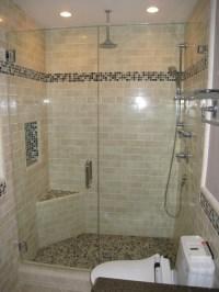 Subway tile shower - Contemporary - Bathroom - san diego