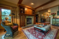 Rookwood Tile Fireplace - Craftsman - Living Room ...