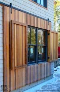 Custom Window Shutter - Traditional - Exterior - other ...