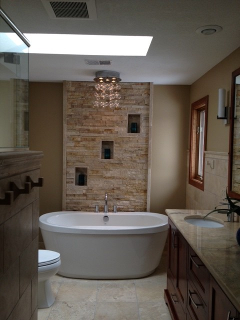 Houzz Master Bathrooms Our New Master Bath And Powder Room...