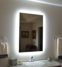 Wall Mounted Lighted Vanity Mirror - Modern - Bathroom ...
