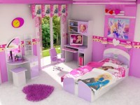 Cartoons Videos: Barbie Princess bedroom set Decoration ...