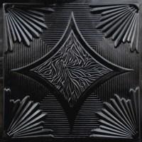 201 Faux Tin Ceiling Tile 24x24 - Black - Ceiling Tile ...
