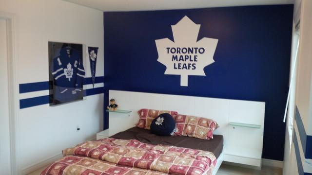 Houzz Rugs Toronto Maple Leafs Room
