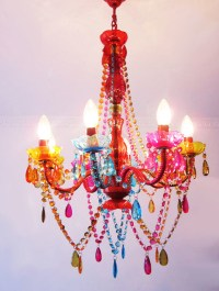 Modern Colorful Crystal Chandelier - Contemporary ...