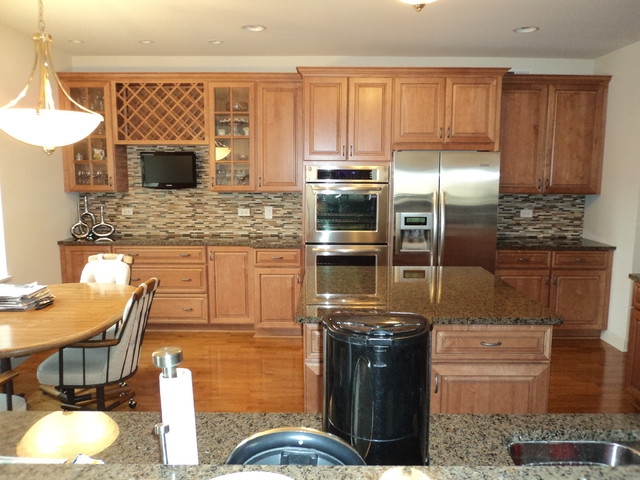 modern backsplash traditional kitchen chicago stone habitat kitchen backsplash traditional kitchen