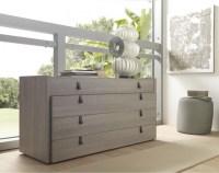 Esprit Modern Open Pore Wood Veneer Grey Dresser ...