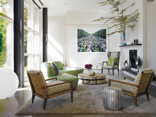 Country Chic Living Room - modern country living room