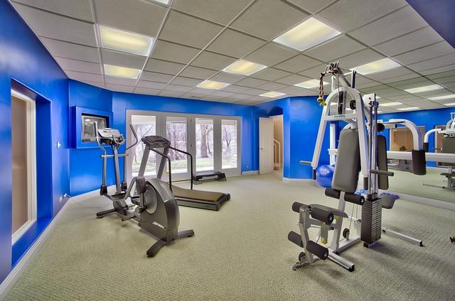 3d Cross Pendant Wallpaper Exercise Room
