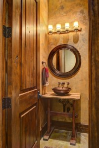 Ranch Style by the Lake - Rustic - Bathroom - houston - by ...