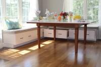 Breakfast Built-in Bench - Traditional - Kitchen - boston ...