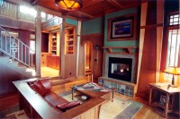 Craftsman Style Living Room - Traditional - Living Room ...