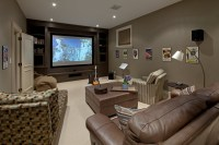 Media Room Color Schemes - Home Decorating Ideas