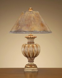 John Richard 32'' Fluted Tuscan Cream Urn Lamp - Eclectic ...