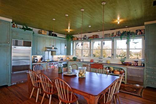Rustic Family Room 15 Eat-in Kitchens That Put Your Dining Room To Shame