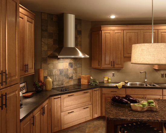 Kitchens designed in our least expensive 6 square cabinet line