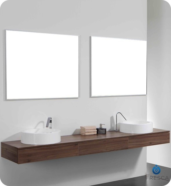 floating bathroom vanities - contemporary vanity