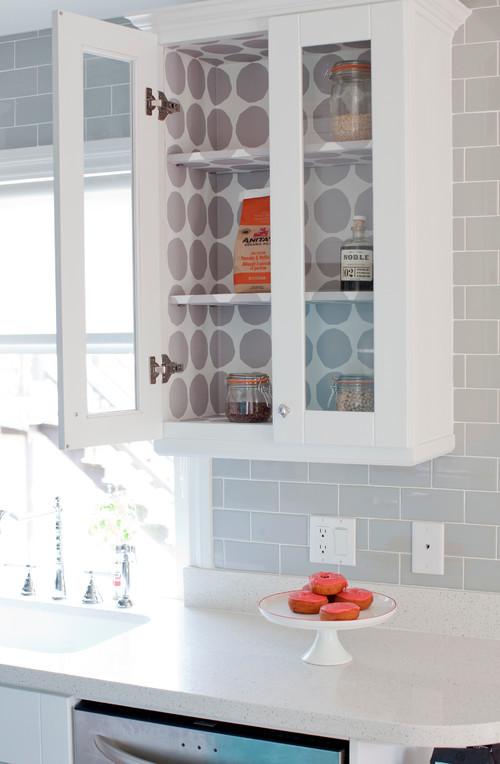 inexpensive ways fix kitchen photos huffington rental friendly kitchen update wallpaper cabinets
