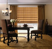 Levolor Classic Roman Shade - Traditional - Dining Room ...