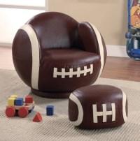 Small Football Chair and Ottoman