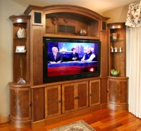 TV and media wall unit