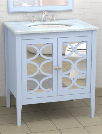 Vanity with Mirrored Doors - Traditional - atlanta - by ...